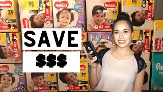 How To: Diaper Stockpile Using Digital Coupons| Easiest Way to Save on Diapers