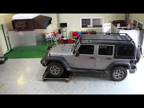 iKamper - Strong Aluminum Honeycomb test