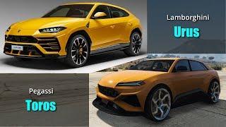 GTA V Cars VS Real Life Cars #5 | All SUVs