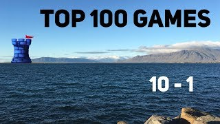 Top 10 Games of All Time! LIVE