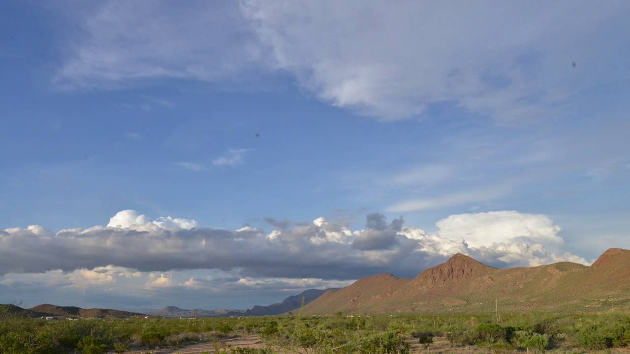 Big Bend Clouds (Time Lapse)