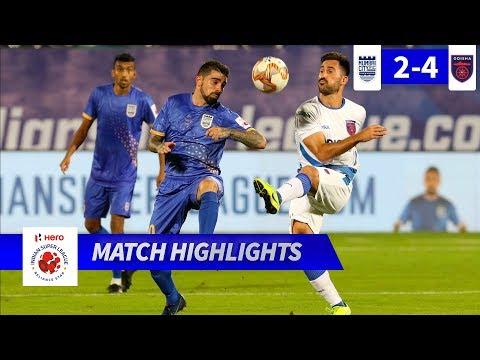 Мумбаи Сити - Odisha 2:4. Видеообзор матча 31.10.2019. Видео голов и опасных моментов игры