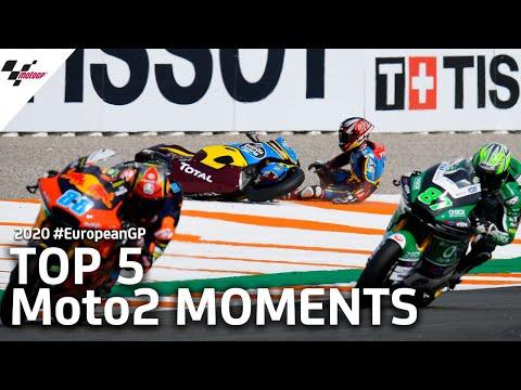 MotoGP ヨーロッパGP Moto2決勝レースのダイジェスト動画