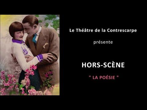 Découvrez le « HORS-SCÈNE • LA POÉSIE » de Marie-Caroline MOREL, metteuse en scène de « Le voisin...