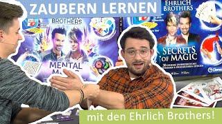 Wir lernen Zaubern mit dem Ehrlich Brothers Zauberkasten von Clementoni!