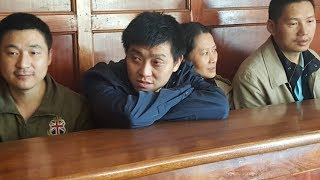 Chinese suspects detained for 15 days - VIDEO