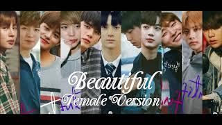 WANNA ONE - Beautiful [Female Version]