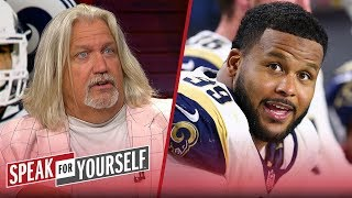 Rob Ryan on Rams signing Aaron Donald and Jalen Ramsey's trash talk   NFL   SPEAK FOR YOURSELF
