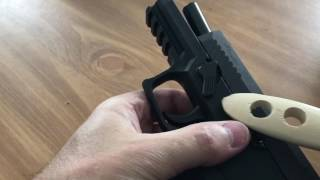 Sig Sauer P320  takedown issue fix