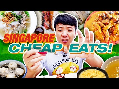 Download MUST TRY Singapore CHEAP EATS! Hawker Street Food Tour of Singapore HD Mp4 3GP Video and MP3