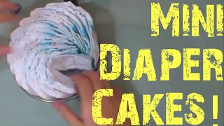 Make Small And Mini Diaper Wheels For Your Diaper Cake!