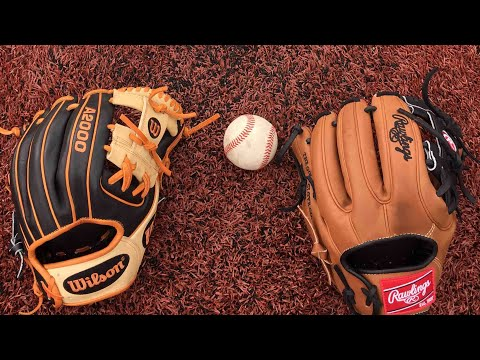 Wilson A2000 vs Rawlings Heart of the Hide