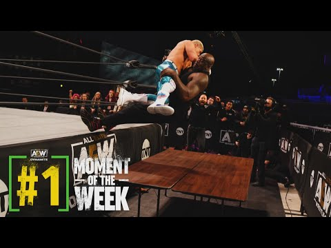 Shaq Gets Knocked Out by Cody Rhodes!   AEW Dynamite