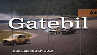 Gatebil july 2019   Main event Rudskogen