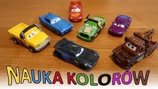 Auta dla dzieci, Cars | Kolory, nauka kolorów | Uczymy się po polsku po angielsku | MaMoMu
