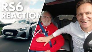 Audi RS6 | Ich fahre | Mein Papa reagiert | Matthias Malmedie