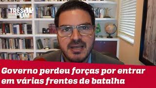 Rodrigo Constantino: Governo Bolsonaro deveria ter comprado brigas mais prioritárias