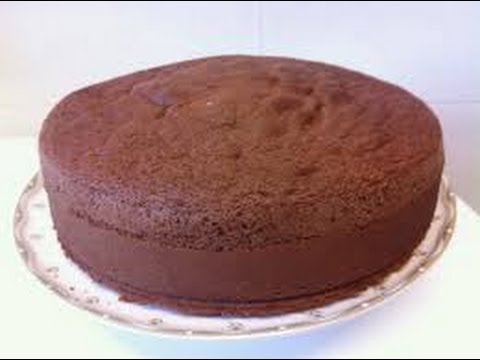 BIZCOCHO DE CHOCOLATE BASICO PARA TORTAS- Silvana Cocina