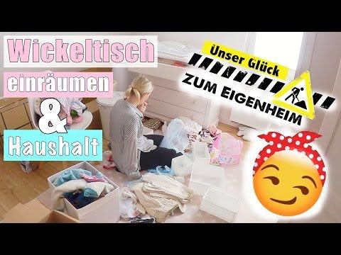 Paulines Kleiderschrank & Wickeltisch organisieren   Mama Alltag   21 SSW   Isabeau