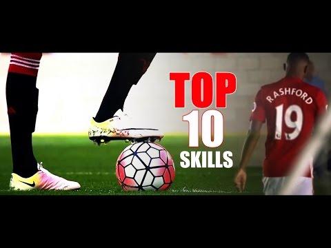 Marcus Rashford Top 10 Skills HD