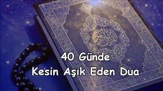 40 Günde Kesin Aşık Eden Dua