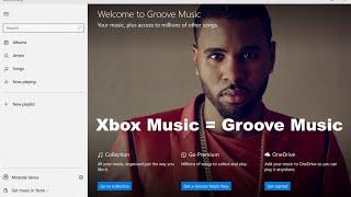 Xbox Music = Groove!!!