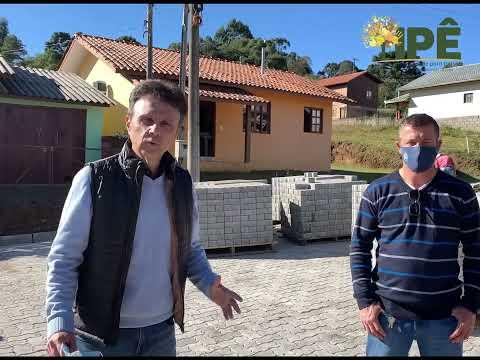 Foto PAVIMENTAÇÃO NO BAIRRO BELA MORADA EM FASE DE EXECUÇÃO