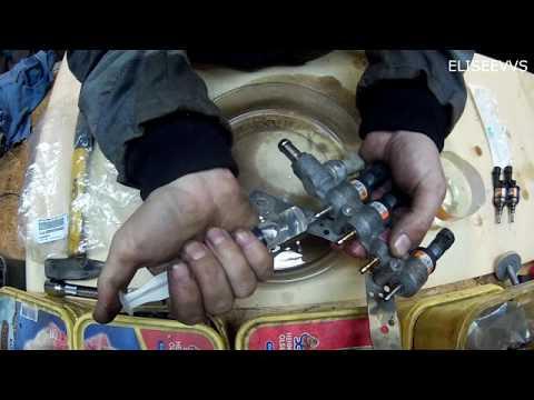 промывка газовых форсунок brc своими руками