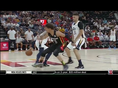 Trae Young Gets EXPOSED By Jazz Rookie!
