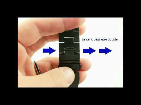 comment demonter bracelet rolex