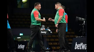 """Gerwyn Price on Wales' win over Scotland: """"Thankfully Jonny's counting didn't come back to bite us!"""""""