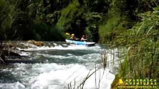 preview picture of video 'Canoraft en el río Mijares con Ayahuasca Aventuras [HD] 04/08/13'