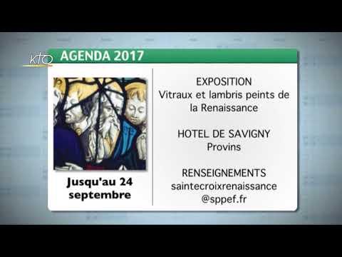 Agenda du 15 septembre 2017