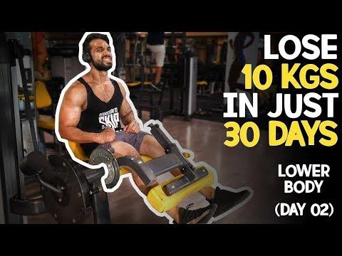 Upang mawala ang timbang mula sa 77 kg sa 60 kg