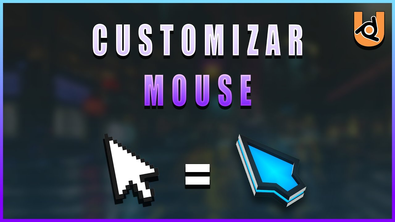 MOUSE CURSOR | UPBGE (Tutorial)