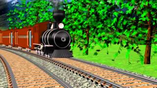 Alfabet Train | Full HD