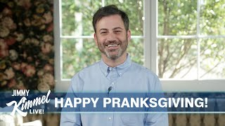 Jimmy Kimmel's Quarantine Monologue – April Fools' Day Pranks & What's Left at the Grocery Store