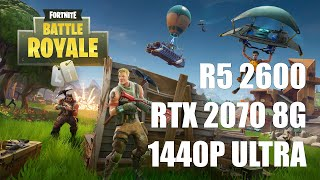 ryzen 5 2600 rtx 2060 fortnite 1440p - TH-Clip