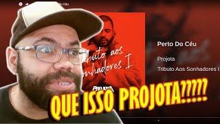 Projota   Perto Do Céu | REAGINDO E COMENTANDO