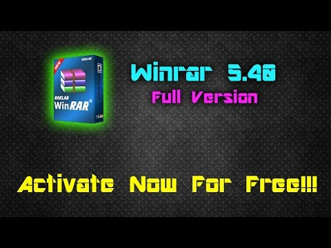 Video Winrar 5.40 32-64 Bit Setup+Crack || Latest Version || 100% Working 2016