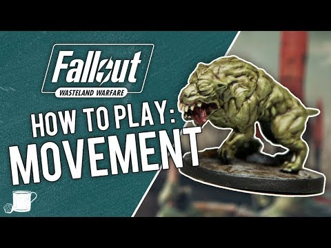 How Movement Works In Fallout Wasteland Warfare - Tabletop Hub