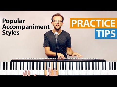 Popular Piano Accompaniment Styles | HDpiano