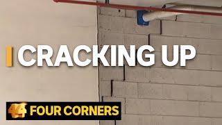Cracking Up: Investigating Australia's apartment building crisis | Four Corners