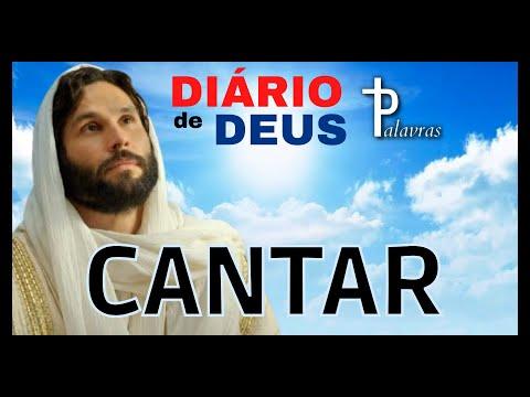 Orao do Dia Diario de Deus Palavras Cantar