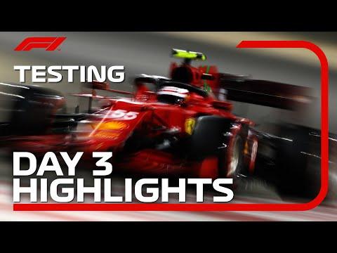 F1 2021 F1プレシーズンテスト バーレーン 3日目ハイライト動画