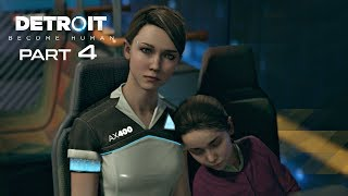 Detroit Become Human Walkthrough Part 4 - FUGITIVES | PS4 Pro Gameplay