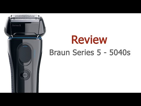 Braun Series 5 Wet/Dry Razor Review