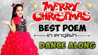 Christmas Poem | Christmas Poem in English | Christmas Song for kids | Poem for Kids | English Poem - ENGLISH