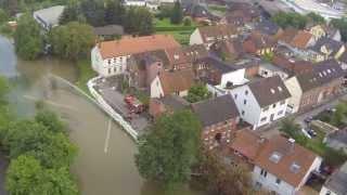 preview picture of video 'Hochwasser Sarstedt Innerste 29.05.2013 Teil 1'