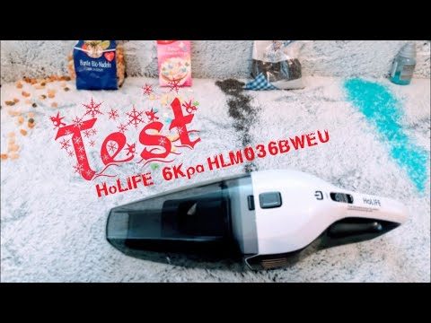 Unboxing HoLIFE Portable Vacuum Cleaner, Test, wet & dry,  Akku - handstaubsauger Nass Trocken,